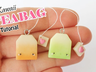 Kawaii Teabag │ Polymer Clay Tutorial
