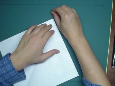 Making Pentagon From Lettersize Paper