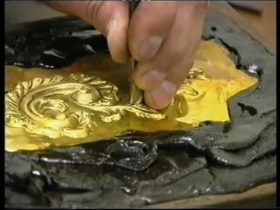 Metal Chasing.Repousse Art- Avedis The Master At Work.