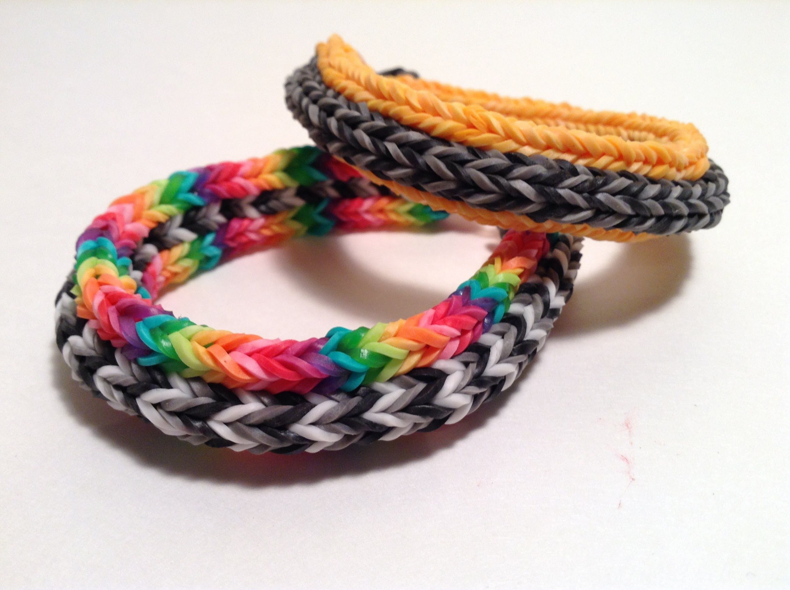 Mini Cord Bracelet Tutorial - Monster Tail