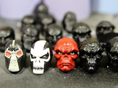 Molding and Casting Tutorial Custom Head Sculpts review