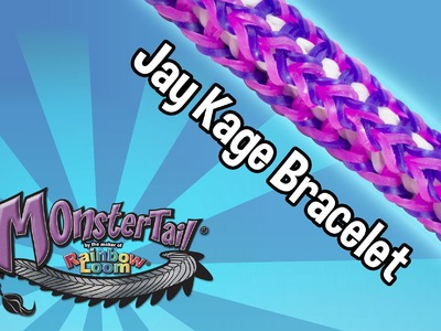 Monster Tail® Jay Kage Bracelet by the Maker of the Rainbow Loom