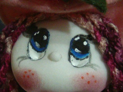Muñecos soft. como pintar ojos faciles.how to paint eyes easily. proyecto 183