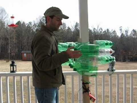 My 2 liter wind turbine (27 bottles)