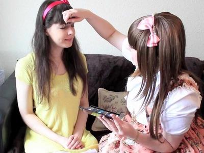My friend Peachie gets a Classic Lolita Makeover