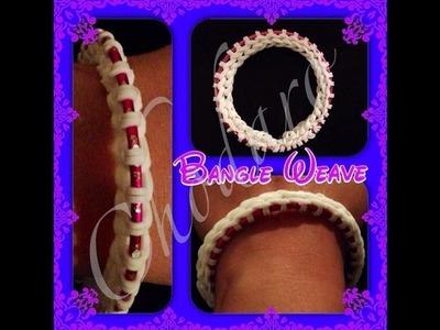 NEW Rainbow Loom Bangle Weave Bracelet