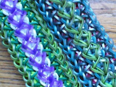 NEW Rainbow Loom Diamante Bracelet