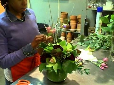 New York Florist Rochelle M. Featuring a Designers Choice