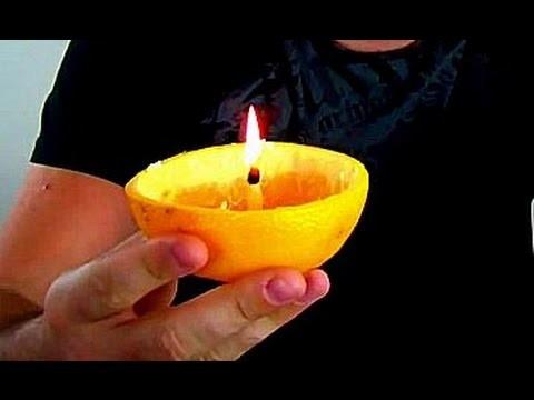 Orange Candle - Zombie Survival Tips #3