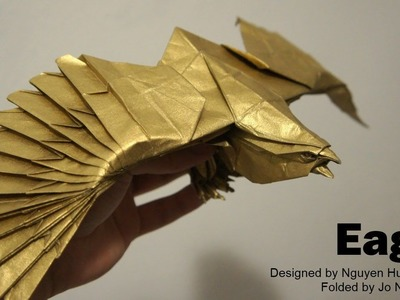 Origami Giveaway #5 - Eagle (Nguyen Hung Cuong)