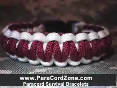 Paracord Survival Bracelets Made by active US soldier