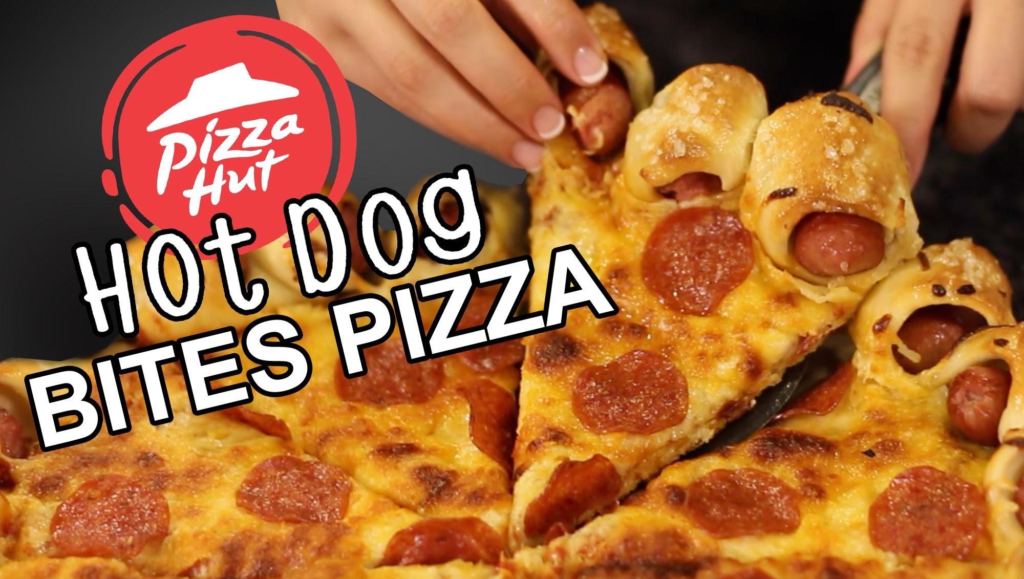 Pizza Hut Hot Dog Bites Crust Recipe Remake  |  HellthyJunkFood