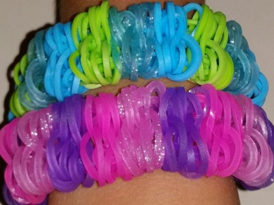 RAINBOW DOUBLE BUBBLE BRACELET Easier Variation of Shuffle