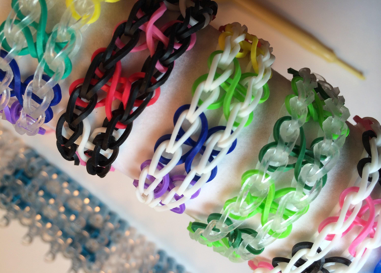 Rainbow Loom Beginners Four Leaf Clover Bracelet
