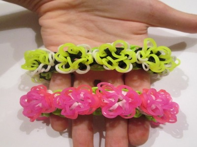 Rainbow Loom- Flora and Fauna Bracelet (Original Design)
