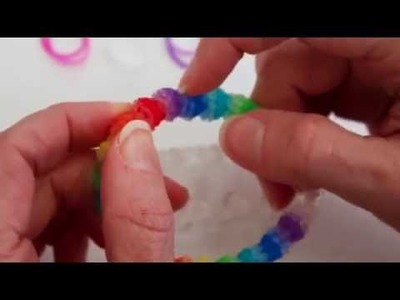 Rainbow Loom™  MonsterTail™  Gumdrop Bracelet Tutorial