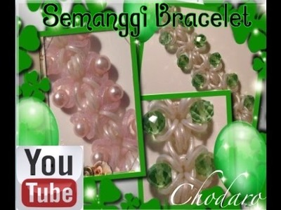 Rainbow Loom Semanggi Bracelet how to. Tutorial