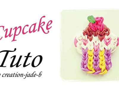 Tuto Rainbow Loom - Mural sans fond Cupcake !