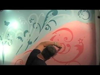 Tweens Teens Bedroom Ideas Green Apple Painting