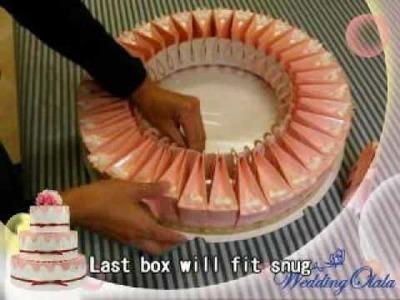 Wedding Favor Cake - Very Unique Idea