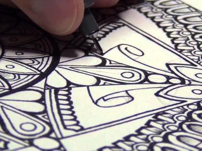 A Mandala (And Drawing Mindsets)
