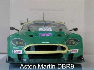 Aston Martin DBR9 paper model