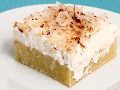 Coconut Tres Leches Cake Recipe - Laura Vitale - Laura in the Kitchen Episode 888