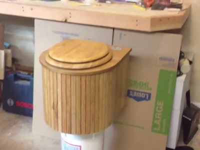 Composting Toilet | The Cabin Can