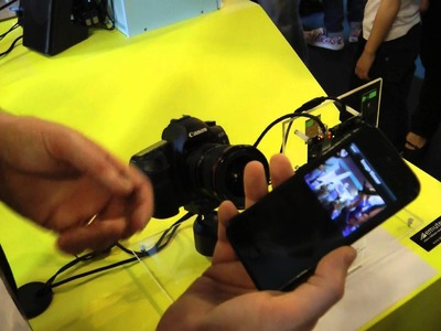 Controlling a dSLR with a Smartphone using Intel Galileo