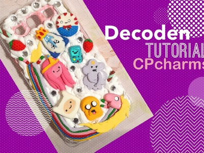 Decoden Phone Case Tutorial! : Adventure Time!