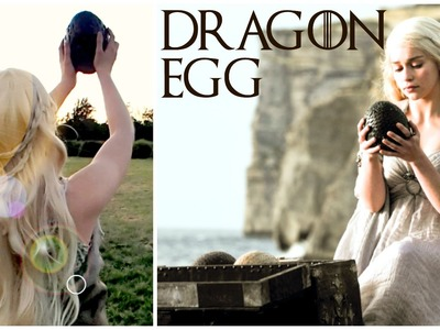DIY Dragon Egg (Game Of Thrones Inspired Tutorial)