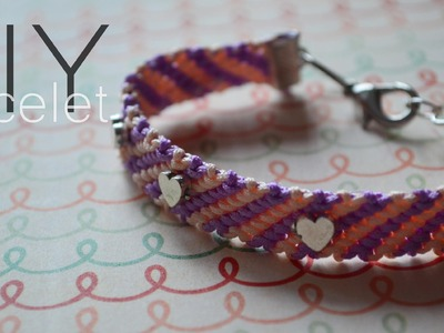 DIY : friendship bracelet