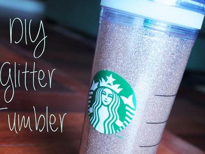 DIY: Glitter Tumbler