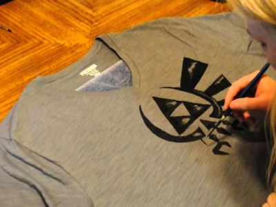 DIY Legend of Zelda Shirt