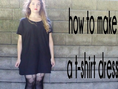 DIY: T-Shirt Dress | RemiiRoo