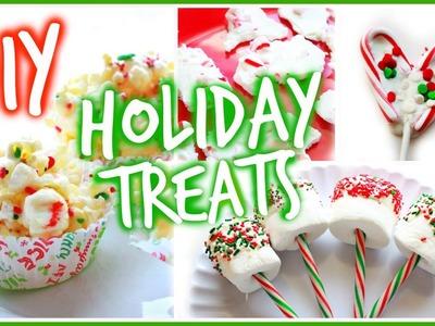 Easy DIY Holiday Treats! ft. xxmakeupiscoolxx