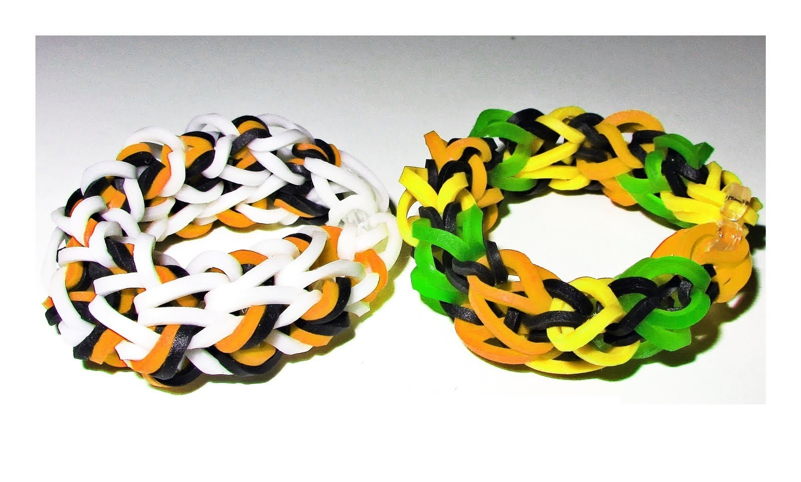 EASY Loom. Bands: How to Make a Rainbow Loom Dragon Bone Bracelet