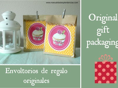 Envoltorio de regalo. Gift packaging