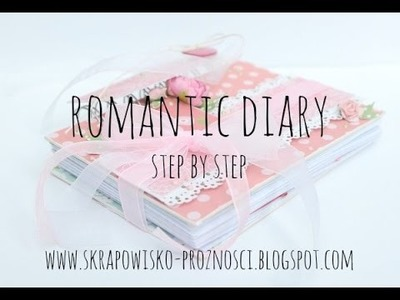 Girly diary from scratch - step by steo video