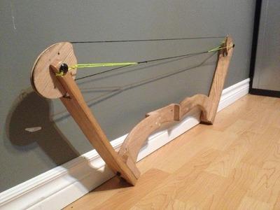 Home Made Oak Compound Bow