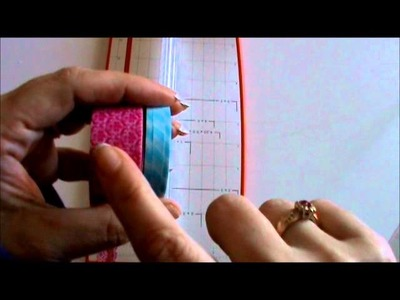 How I make my Washi Tape thinner