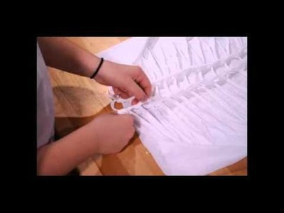 How to Cut and Weave an Oversized T-shirt