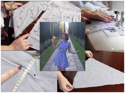 How to expand a dress that's too small The Retro Rachel Dixon Tutorial DIY sewing atlerations