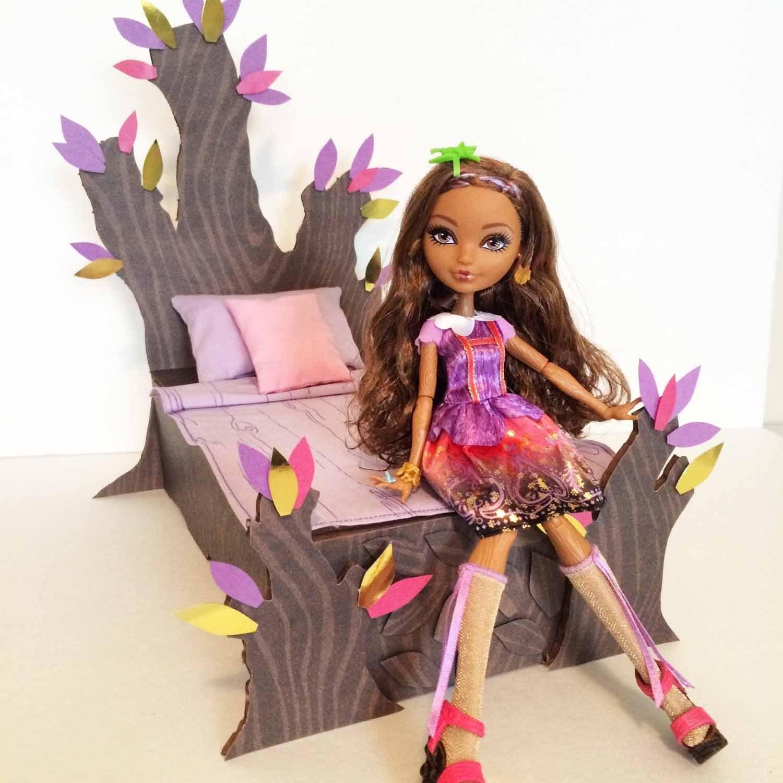 Как сделать мебель для кукол эвер афтер хай