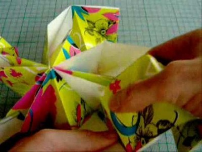 How to make a Paper Christmas Star aka Origami Spiked Pentakis Dodecahedron or SPD