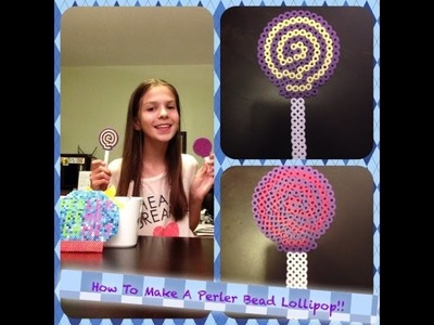 How To Make A Perler Bead Lollipop (Big Edition!)