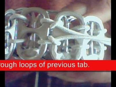 How to Make a Pop Tab Bracelet
