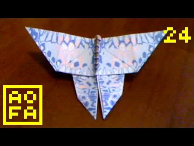 How to make an Origami Butterfly . for all (24)