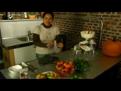 How to Make Gazpacho Soup fresh from your Garden!