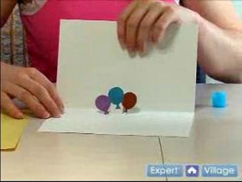 How to Make Homemade Greeting Cards : How to Make & Decorate Your Own Pop-Up Greeting Card
